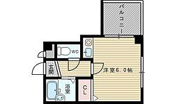 シティステージ新大阪[2階]の間取り