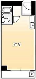 トーカン博多第5キャステール[816号室]の間取り