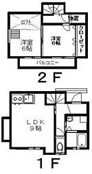 メゾン青葉A棟[102号室]の間取り