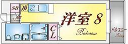 ジュリア須磨浦3[1階]の間取り