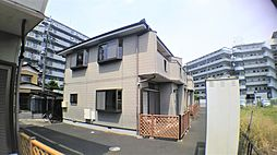 [テラスハウス] 千葉県鎌ケ谷市粟野 の賃貸【/】の外観