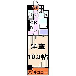 エスポワールYM[4階]の間取り