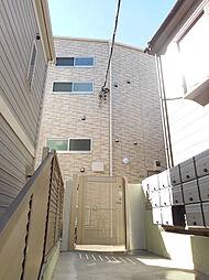 東京都新宿区若葉3丁目の賃貸アパートの外観