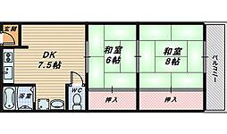 メゾン堺[1階]の間取り