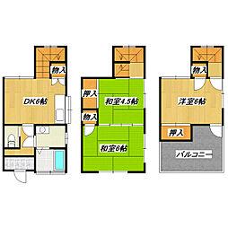 [一戸建] 東京都葛飾区東新小岩7丁目 の賃貸【/】の間取り