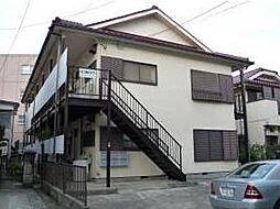 神奈川県横浜市青葉区あざみ野4丁目の賃貸アパートの外観