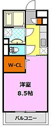 D-room   ロイヤルパルクB[1階]の間取り