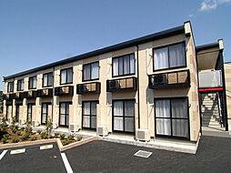 千葉県鎌ケ谷市東道野辺2丁目の賃貸アパートの外観