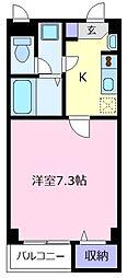 大阪府松原市天美南5丁目の賃貸アパートの間取り