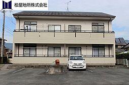 愛知県新城市石田字東金国の賃貸アパートの外観