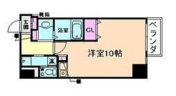 ダイドーメゾン大阪中之島[12階]の間取り