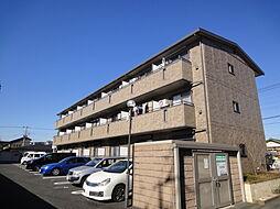 埼玉県三郷市谷中の賃貸アパートの外観