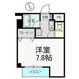 パープルクラウド3[2階]の間取り
