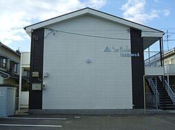 愛知県岡崎市宮地町字馬場の賃貸アパートの外観