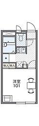 ソレイエ[2階]の間取り