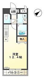 愛知県豊田市井上町1丁目の賃貸マンションの間取り