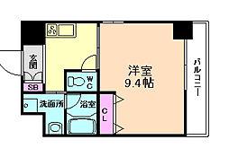 エスポアール福島[2階]の間取り
