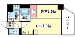 Comfortable柳橋 〜カンファタブル柳橋〜[9階]の間取り