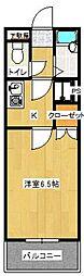 ヴィラ333[105号室]の間取り