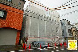 東京都江戸川区東松本1丁目の賃貸アパートの外観