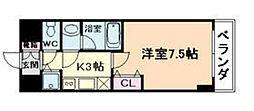 シャルマンフジ福島[3階]の間取り