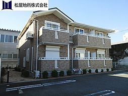 愛知県豊川市豊が丘町の賃貸アパートの外観