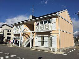 愛知県岡崎市森越町字城屋敷の賃貸アパートの外観