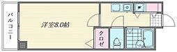 フォーラム箱崎[301号室]の間取り