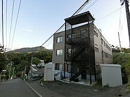 旭山パークハイツ[202号室]の外観