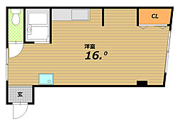 アイズコート[3階]の間取り