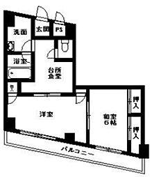 ベルメゾン富士見[2階]の間取り