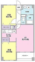 メゾン・ルミエール青葉台[2階]の間取り