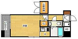 エステート・モア・博多公園通り[8階]の間取り