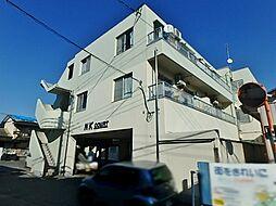 栃木県宇都宮市砥上町の賃貸マンションの外観