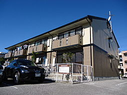 滋賀県米原市下多良1丁目の賃貸アパートの外観