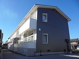 滋賀県米原市下多良の賃貸アパートの外観