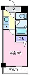 Grand Excel 天美[5階]の間取り