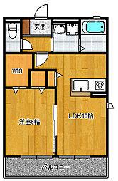 ウィンダミアII[2階]の間取り