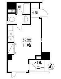 東京都中央区日本橋本町1丁目の賃貸マンションの間取り