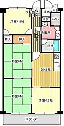 サントピア草津[2階]の間取り