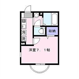 セレ二和向台[1階]の間取り