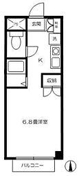 ローザ恋ヶ窪[1階]の間取り