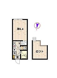 シンシアII[2階]の間取り