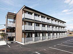 愛知県岡崎市中島町字中道の賃貸マンションの外観
