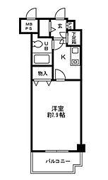 ガーデンハイム5[4階]の間取り