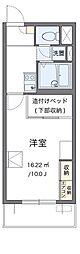 東急田園都市線 梶が谷駅 徒歩5分の賃貸マンション 2階1Kの間取り