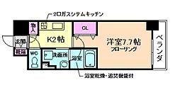 アーバネックス堂島[9階]の間取り