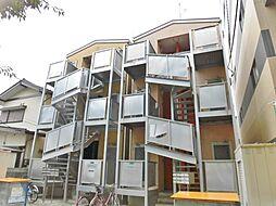 神奈川県大和市深見西2丁目の賃貸アパートの外観