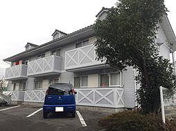 パークランドハイツA棟[102号室]の外観