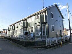 千葉県大網白里市みずほ台2丁目の賃貸アパートの外観